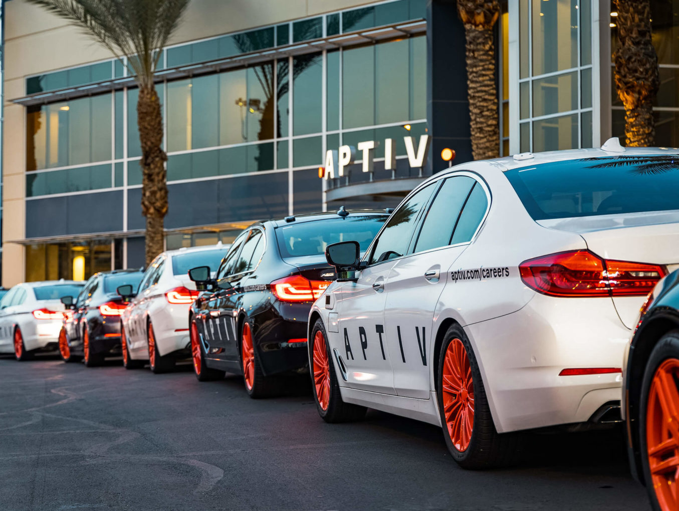 Aptiv car las vegas