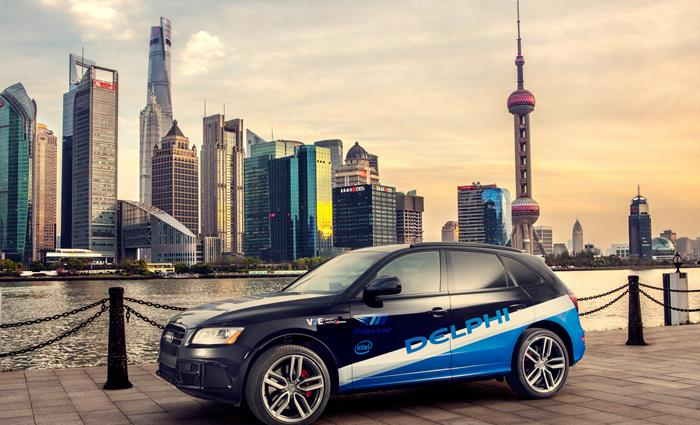 Delphi Partners with Leading Chinese Map and Location