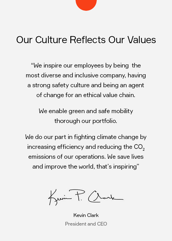 Our Culture Reflects Our Values